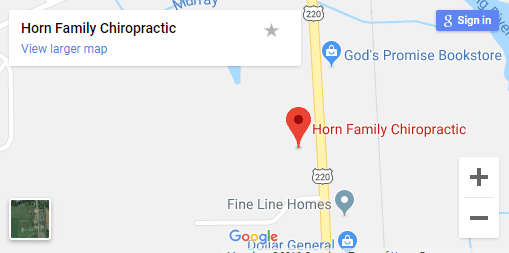 Map of Athens Chiropractors